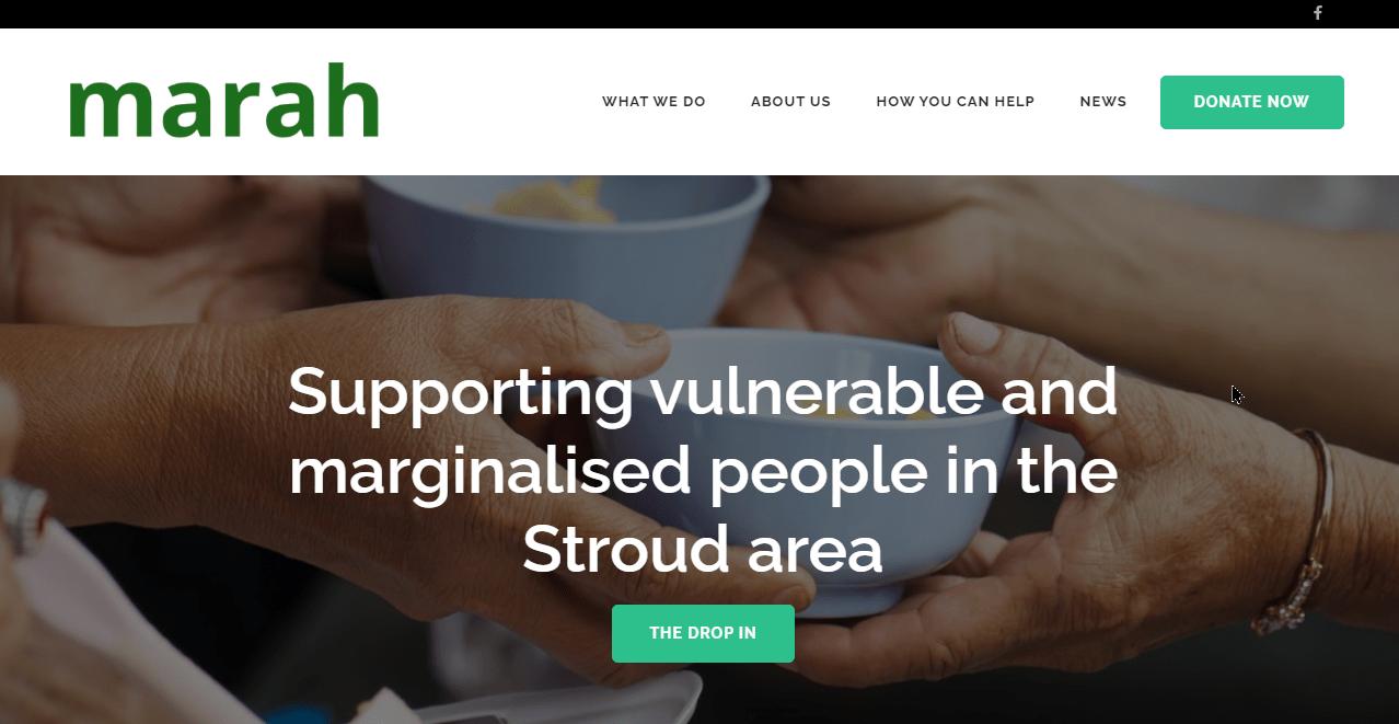 Marah-homepage